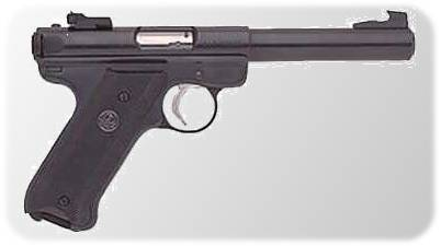 Ruger MK-512 Mark II Bull Barrel Blue