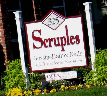 Scruples -- Gossip - Hair & Nails -- Truth in Advertising