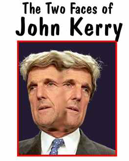 The two faces of John Kerry